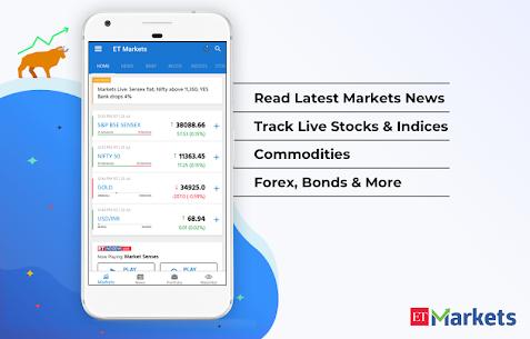 ET Markets   NSE  BSE India Apk 3