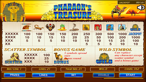 Pharaoh's Treasure 1.07 screenshots 5