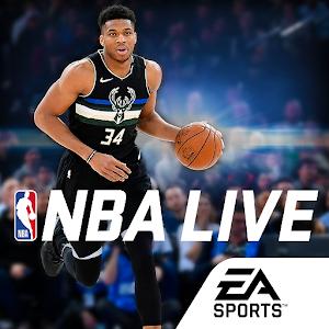 NBA LIVE Mobile Basketball 5.1.10 by ELECTRONIC ARTS logo