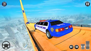 Police Limo Car Games: Mega Ramp GT Stunts