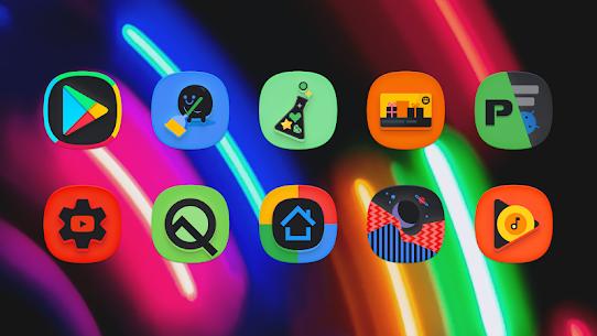 SuperBlack Icon Pack (MOD, Paid) v1.9 3