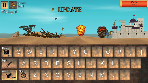 Type Defense - Typing and Writing Game  screenshots 4