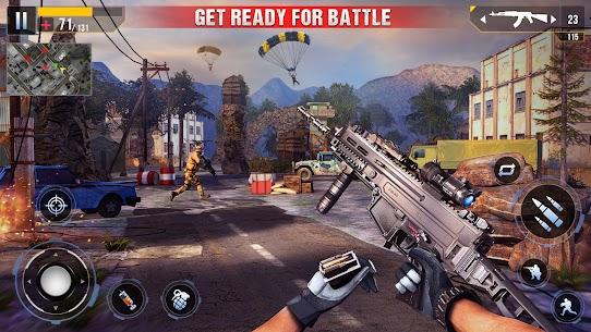 Real Commando Secret Mission Mod Apk (God Mode/Dumb Enemy) 3