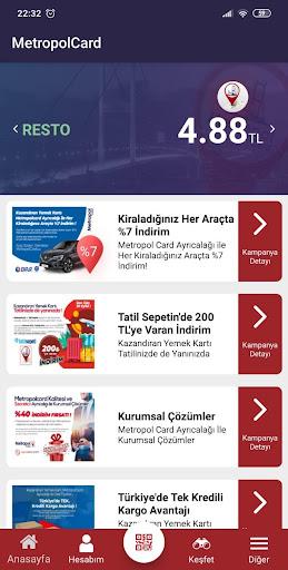 Metropol Card Kullanu0131cu0131 3.3.1 Screenshots 1