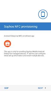 Sophos NFC Provisioning 2