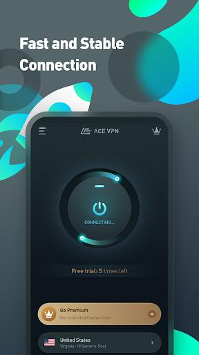 Super VPN Proxy Master & Protector - ACE VPN android2mod screenshots 2