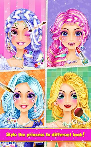 Long Hair Princess Hair Salon 1.8 screenshots 14