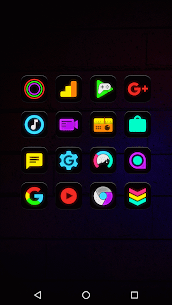 Neon Glow – Icon Pack 8.7.0 APK + MOD Download 3