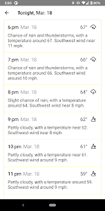 Radar X: Weather radar, alerts, forecasts 4