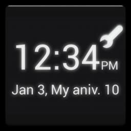 Androidアプリ 俺時計 時計ウィジェット カスタマイズ Androrank アンドロランク