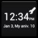 俺時計 (時計ウィジェット)