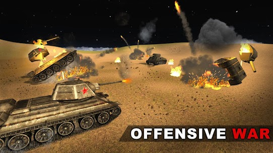 US Army Battle Tank Warrior Attack: Military Blitz Hack Cheats (iOS & Android) 1