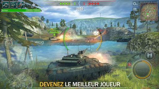 Tank Force: Chars 3D en ligne APK MOD – Monnaie Illimitées (Astuce) screenshots hack proof 2