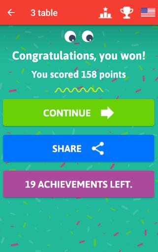 Multiplication Tables - Free Math Game 1.86 Screenshots 4