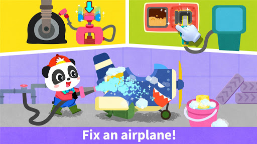 Baby Panda's Airplane modavailable screenshots 3