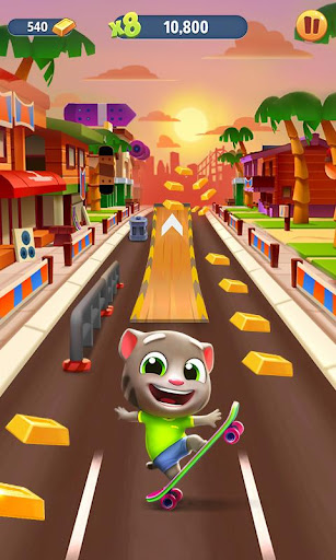 Talking Tom Gold Run modiapk screenshots 1