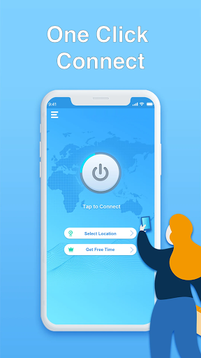 Super Master Free VPN - High Speed, Secure Proxy  screenshots 1