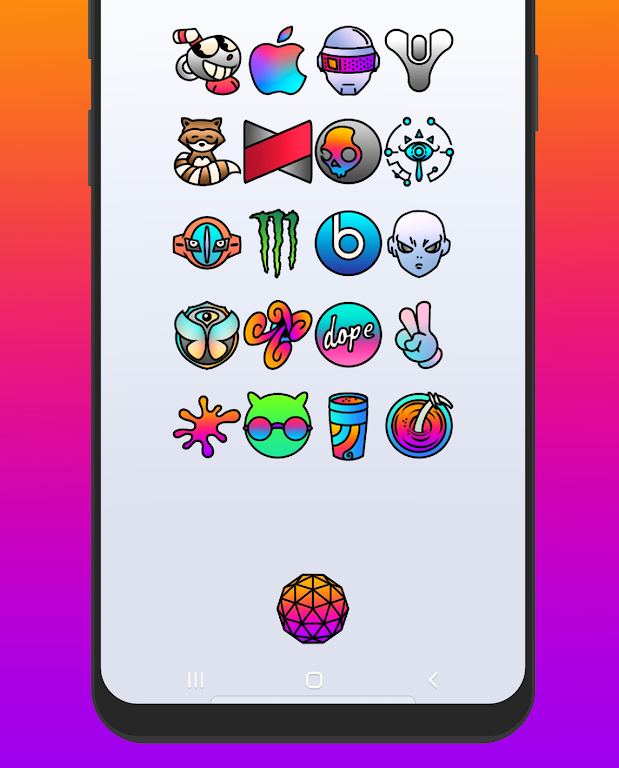 🌴 JUGO - ICON PACK  poster 1