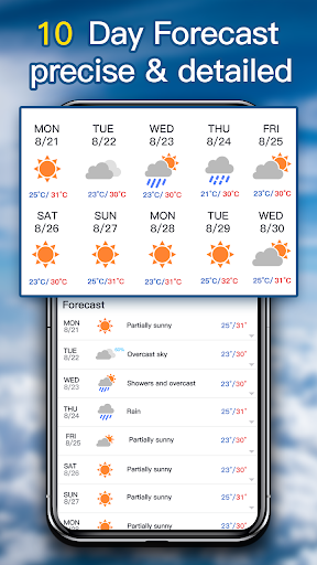 Weather Forecast - local weather app 2.2 Screenshots 4