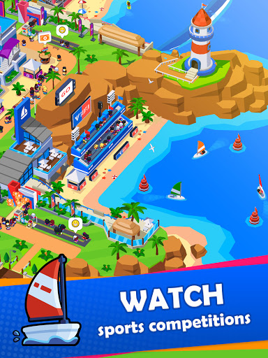 Sports City Tycoon - Idle Sports Games Simulator  screenshots 20