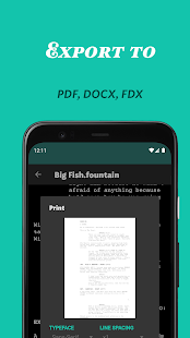 JotterPad - Writer, Screenplay, Novel 13.0.11B-pi Screenshots 6