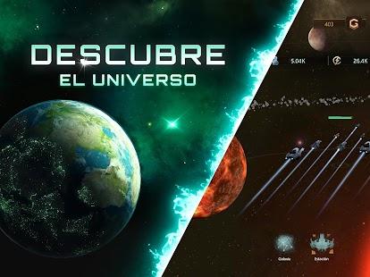 Stellaris: Galaxy Command, Strategia, Schermata del gioco