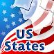 アメリカ合衆国の州クイズ - Androidアプリ