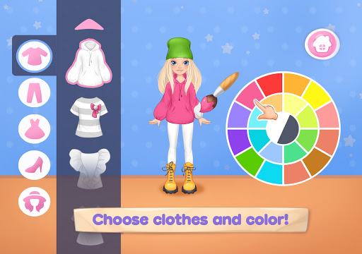 Fashion Dress up games for girls. Sewing clothes  screenshots 7