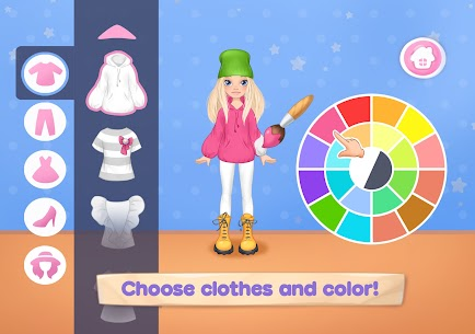 Fashion Dress up games for girls. Sewing clothes 7