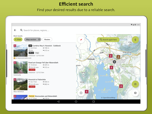 Outdooractive: Hiking & Biking Trails, GPS & Maps 3.3.28 Screenshots 12