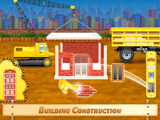 City Construction Vehicles - House Building Games screenshots 4