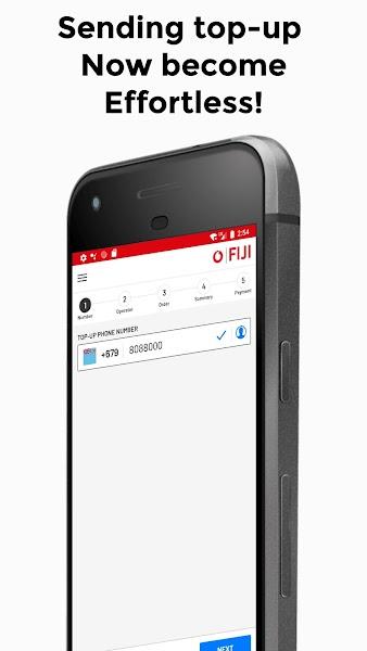 Vodafone Fiji Top-Up