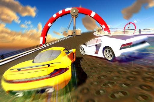 Impossible GT Car Driving Tracks: Big Car Jumps apkpoly screenshots 4