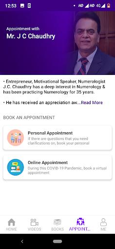 JC Nummerro App - J C Chaudhry Numerologist android2mod screenshots 8