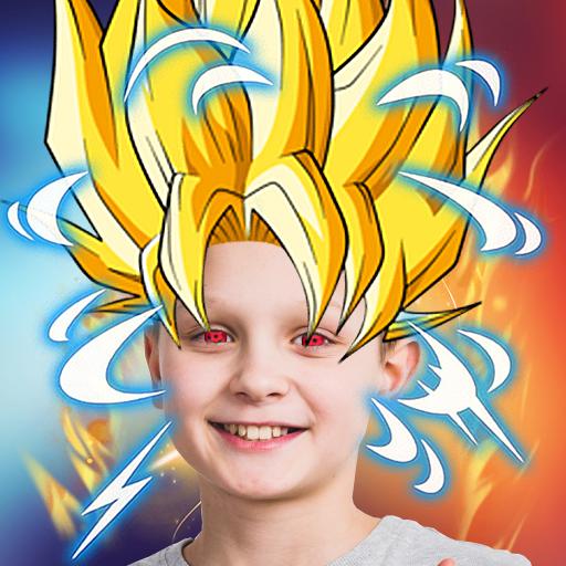 Baixar Super Power Photo Makeover App 💥 Anime Stickers para Android