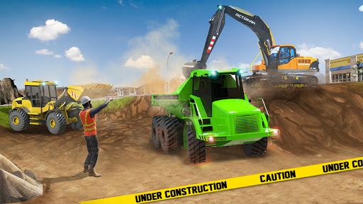 Excavator Construction Simulator: Truck Games 2021  apktcs 1