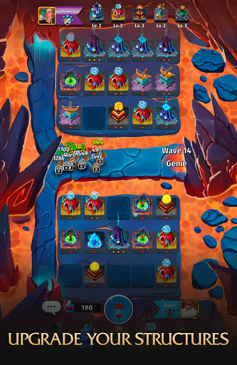 Random Clash - Epic fantasy strategy mobile games  screenshots 5