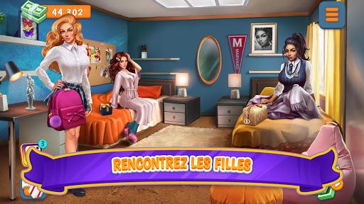 Code Triche Campus: simulateur de rencontres (Astuce) APK MOD screenshots 2