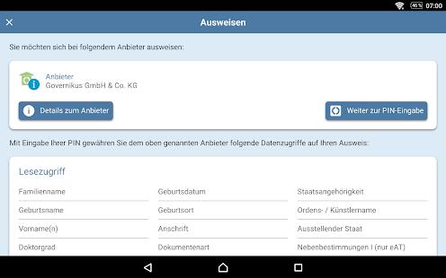 AusweisApp2 1.22.2 Screenshots 12
