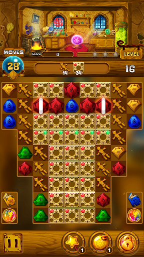 Secret Magic Story: Jewel Match 3 Puzzle android2mod screenshots 3