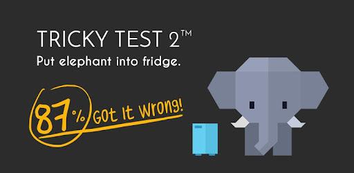 Screenshot of Tricky Test 2 Genius Brain
