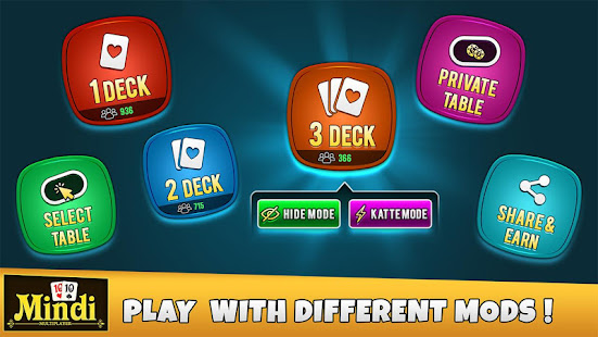 Mindi Multiplayer Online Game - Play With Friends 9.5 screenshots 1