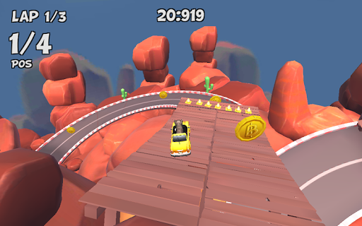 Crazy Cat Rush Racing Run Kitty Craft  screenshots 15