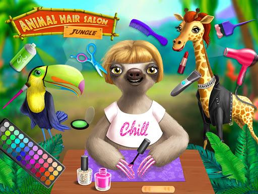 Jungle Animal Hair Salon - Styling Game for Kids 4.0.10018 screenshots 12