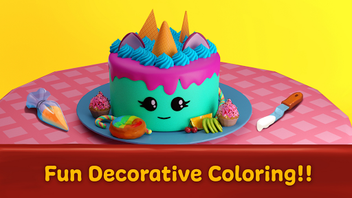 ud83cudf82 Cake maker - Unicorn Cooking Games for Girls ud83cudf08  screenshots 7