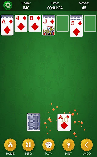 Spider Solitaire - Classic Solitaire Collection  screenshots 14