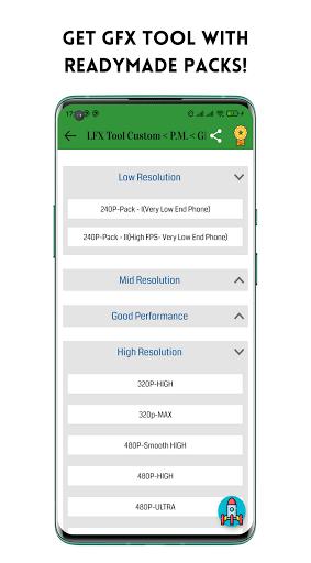 LFX Tool Custom- GFX Tool, IPAD View No Grass PUBG android2mod screenshots 8