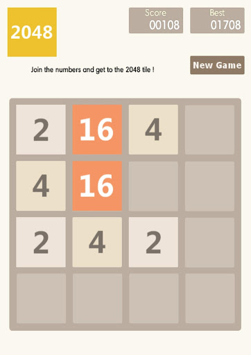 2048 - brain trainer  screenshots 4