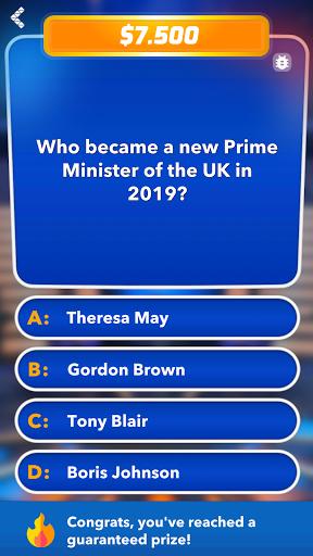 Millionaire 2021 - Trivia & Quiz 1.4 screenshots 5
