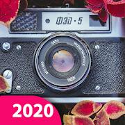 Vintage Camera: Film Camera, 1998 Retro filters